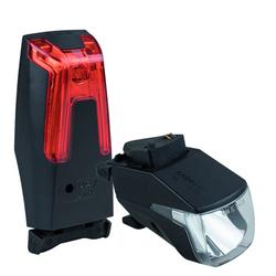 Monkey Link 100 Lux Set - Fahrradbeleuchtung eBike Black/Red
