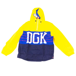 Jacke DGK - Race Windbreaker Jacket Yellow (YELLOW) Größe: L