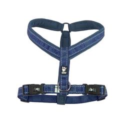 Hurtta Casual Y-Hundegeschirr blau, 90 cm