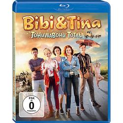 BLU-RAY Bibi & Tina 4: Tohuwabohu total (Kinofilm) Hörbuch