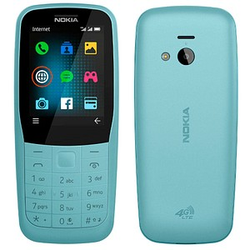 NOKIA 220 4G Dual-SIM-Handy blau