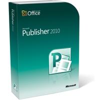 Microsoft Publisher 2010 ESD DE Win