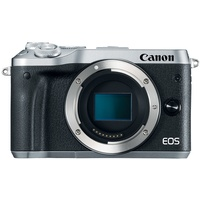 Canon EOS M6 silber + EF-M 15-45mm IS STM