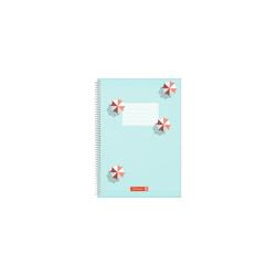 BRUNNEN Notizbuch Brunnen Spiralbuch A4 Colours of Holiday