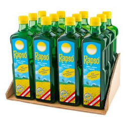 Rapso Rapsöl 750 ml, 12er Pack