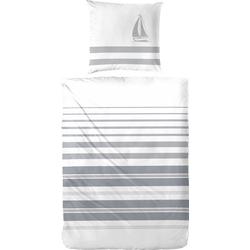 Bettwäsche Maritim, Primera, im frischen maritimen Stil weiß 1 St. x 155 cm x 220 cm