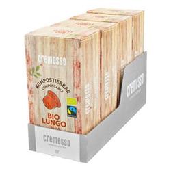 Cremesso Lungo Bio Crema Kaffee 96 g, 4er Pack