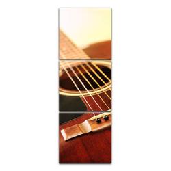 Bilderdepot24 Leinwandbild, Leinwandbild - Gitarre 40 cm x 120 cm
