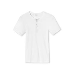 Schiesser T-Shirt Naturbursche (1-tlg) weiß 4