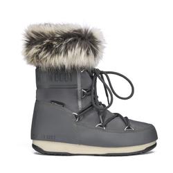 Moon Boots Monaco Low WP 2 - Moon Boot flach - Damen Grey 40 EUR