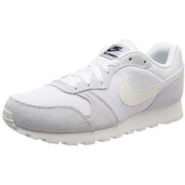 Nike Wmns MD Runner 2 white light grey white, 37.5