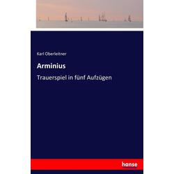 Arminius als Buch von Karl Oberleitner