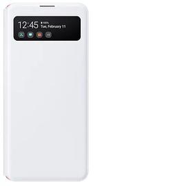Samsung S View Wallet Cover für Galaxy A41 white
