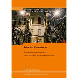 Tabu und Übersetzung als Buch von