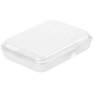 Rotho FUN Funbox, 750 ml Brot-Box, Aufbewahrungsbox / Brotdose aus Kunststoff, Farbe: transparent