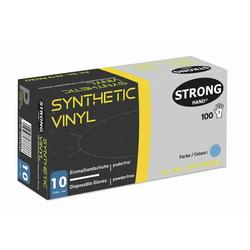 Nitril-Vinyl Einweghandschuhe PATAU, stronghand ungp. blau Vorbestellen