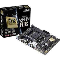Asus A68HM-PLUS Mainboard Sockel AMD FM2+ Formfaktor Micro-ATX Mainboard-Chipsatz AMD® A68H