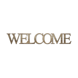 Cut-Out  Welcome