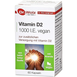 Vitamin D2 1000 I.E. vegan