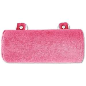 Bestlivings Reisekissen, Badewannenkissen, Nackenrolle in 11x25cm, Kissen für die Badewanne rosa
