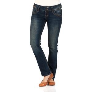 Ltb Damen Jeans Jonquil Slim Straight Slim Straight Malena Wash Normaler Bund Reißverschluss W 24 L 34