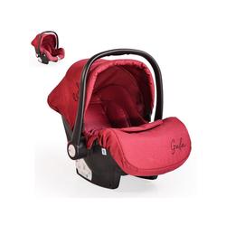 Moni Babyschale Babyschale Gala, Gruppe 0+, 3 kg, (0 - 13 kg), Sitzpolster, Fußabdeckung rot