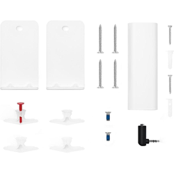 Bose Soundbar Universal Wall Bracket für Smart Soundbar 300, Soundbar 700, Soundbar 500, TV Speaker Wandhalterung weiß