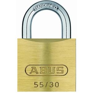 ABUS - 55/30 30mm Messing Vorhängeschloss Gleichschließend 5301 - ABUKA02862