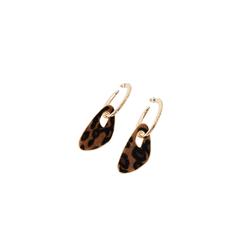 EDITED Damen Ohrringe 'Efsane' braun, Größe One Size, 4268910