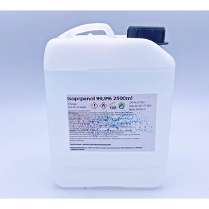 online-hut Isopropanol/Isopropylalkohol Klar 99,9% 2500 ml