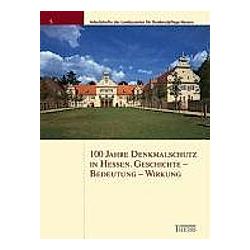 100 Jahre Denkmalschutzgesetz in Hessen - Buch