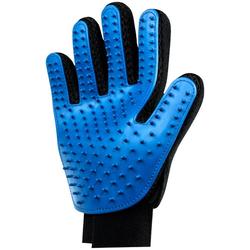 HEIM Fellpflegehandschuh, Gummi, 2 Stk. blau