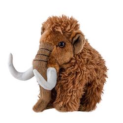 Teddys Rothenburg Kuscheltier Mammut Manni 23 cm stehend braun (Plüschmammut Stoffmammut, Plüschtiere Mammuts Stofftiere Mammute)
