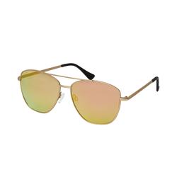 Hawkers LAX A1805 GOLD PINK, Quadratische Sonnenbrille, Unisex