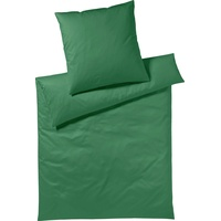 Yes for Bed Pure & Simple Uni dunkelgrün (155x220+80x80cm)