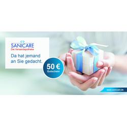 Sanicare Geschenkgutschein 50 Euro