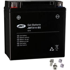 YTX14-BS JMT Gel Batterie für R 1200 NineT ABS Baujahr 2013-2017