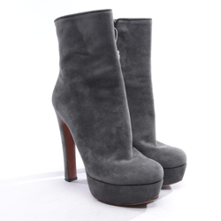 ALAïA Damen Ankle Boots dunkelgrün, Größe 37, 4931585