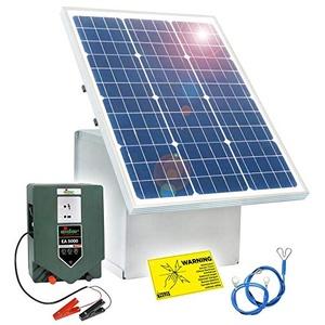 Eider 50W Solar Box & 12V Weidezaungerät EA 5000 Paket 1
