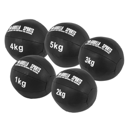 Medizinball Set aus Leder 15 kg
