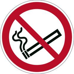 DURABLE Rauchen Verboten Sicherheitskennzeichen, Sicherheitskennzeichen zur Kennzeichnung von Gefahrenbereichen, 1 Stück