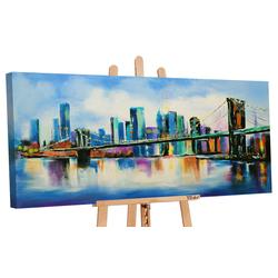 YS-Art Gemälde Brücke 047