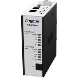 Anybus EtherNet/IP Slave/Profibus Slave Gateway Ethernet, USB 24 V/DC