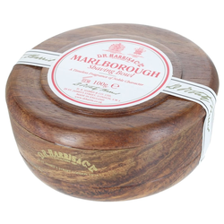 D.R. Harris Marlborough Shaving Soap in Mahogany Bowl