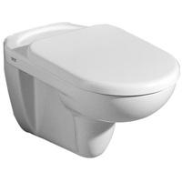 GEBERIT WC-Sitz Mango mit Deckel, Scharniere verchromt edelweiß