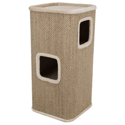 TRIXIE Kratztonne Cat Tower Corrado, 100 cm, creme