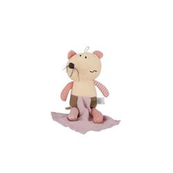 BIECO Plüschfigur Bieco Kuscheltier Maus mit Schmusetuch 30 cm Maus Kuscheltier Gehäkelt Weiche Baby Stofftier Maus zum Kuscheln Maus Kuscheltier Baby Gehäkeltes Kuscheltier für Babys Baby Kuscheltiere