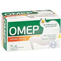 Hexal Omep 20 mg magensaftresistente Hartkapseln 14 St.