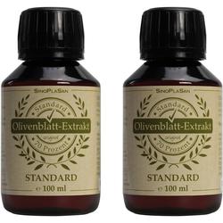 Olivenblatt-Extrakt Flüssig Doppelpack