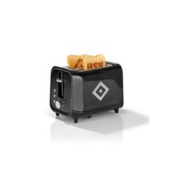 HSV Toaster, 800 W, mit Soundfunktion und HSV-Logo